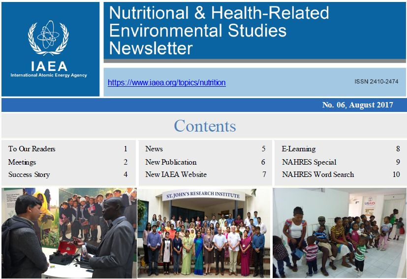 Human Health Campus - Sixth Newsletter of Nutritional