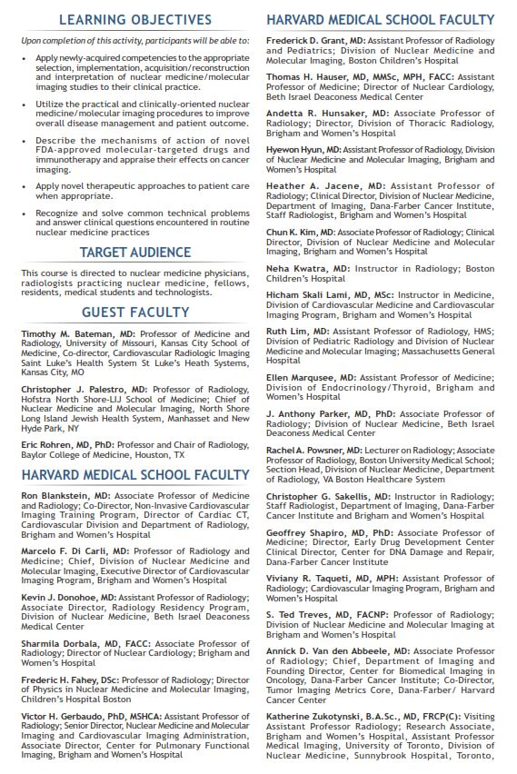Human Health Campus - Clinical Nuclear Medicine, PET-CT and PET-MRI
